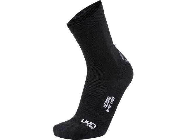 UYN Cycling Merino Naiset sukat , musta
